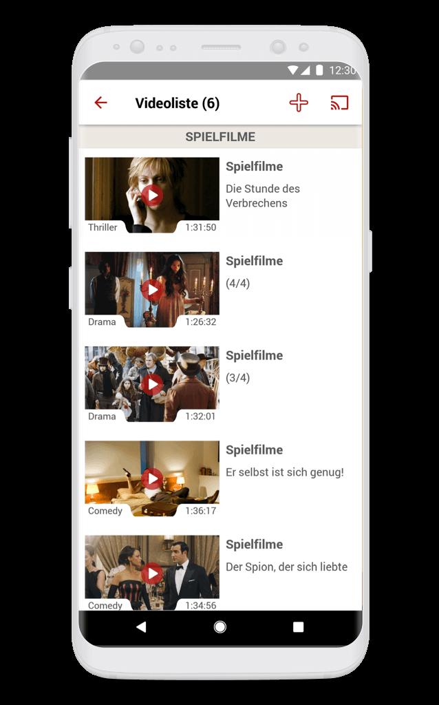 ServusTV Videoliste