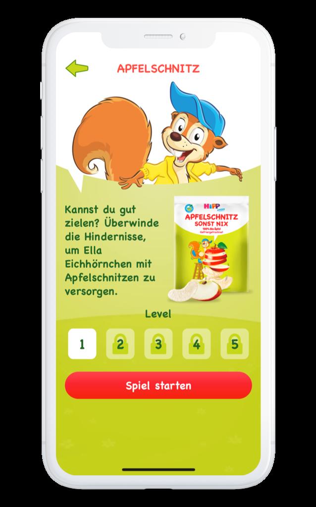HiPP Kinder App Apfelschnitz