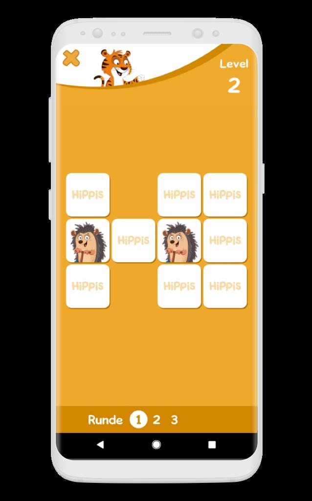 HiPP Kinder App Memory
