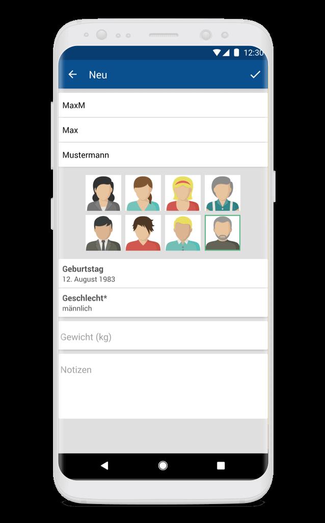 HEXAL MedPlaner Profile