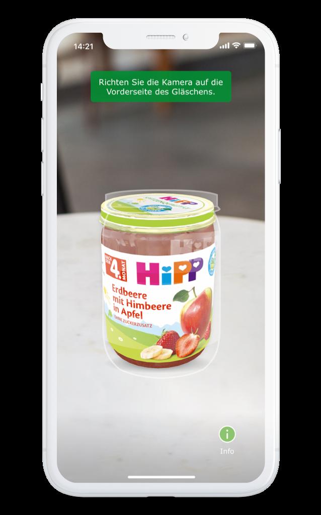 HiPP BIO App Scannen