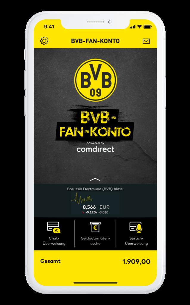 BVB Fan Konto