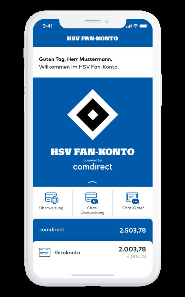 HSV Fan Konto