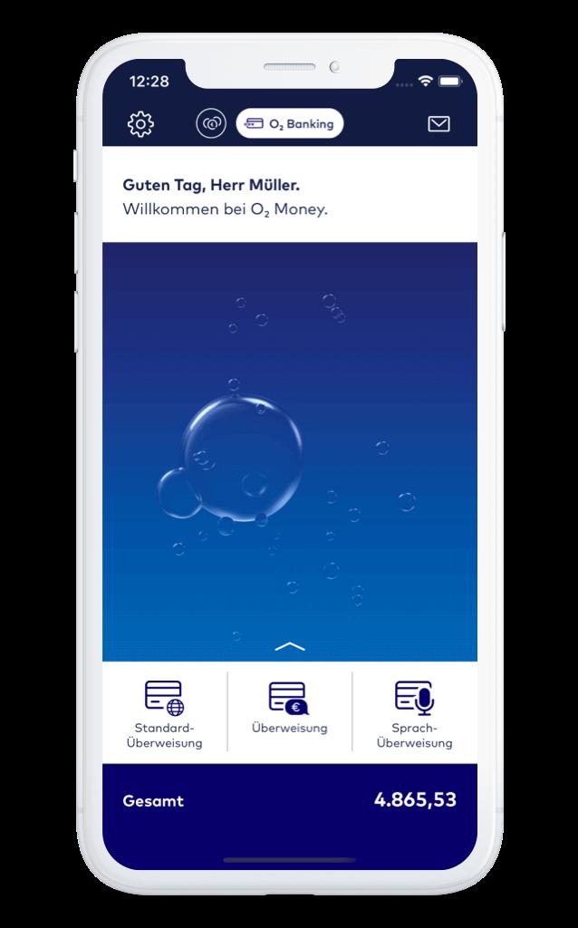 o2 Money App Startseite – comdirect
